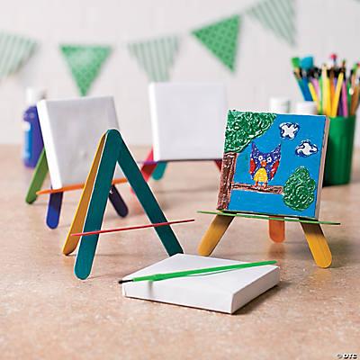Mini Canvas Easel Idea on Easel Decorating Ideas  id=96709