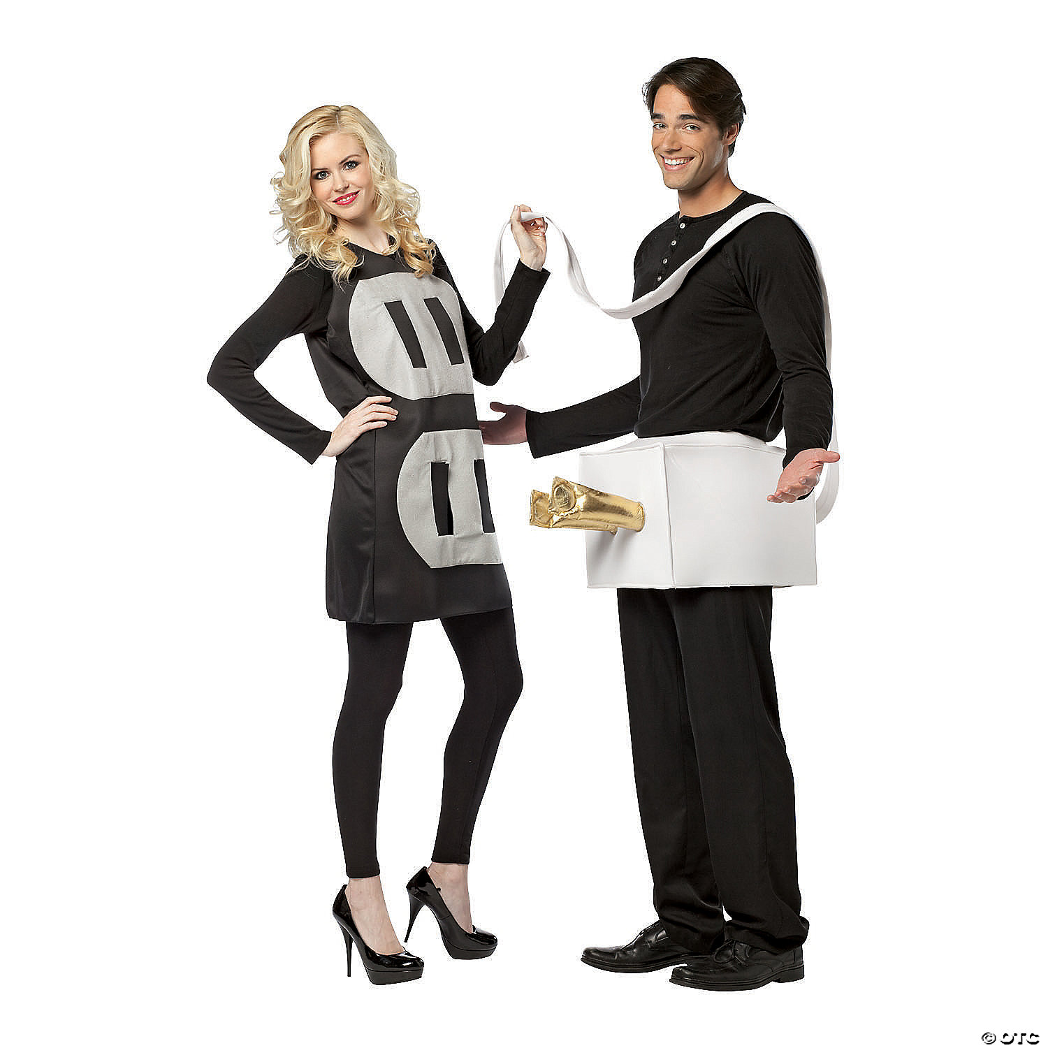Other unique couples' halloween costumes include dressing up as a cheerleader and a football player, or finn the human and princess bubblegum from adventure time! Adult S Plug Socket Couples Costume Oriental Trading