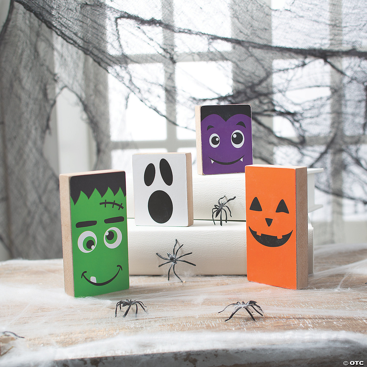 Halloween may be considered a fun, family holiday today, but its history is steeped in tradition and mystery. Halloween Monster Tabletop Block Halloween Decorations Discontinued