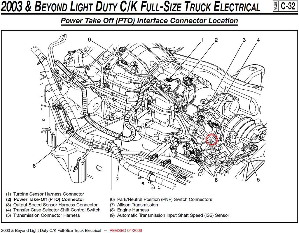 2006 Silverado Transmission Wiring Diagrams Electrical Chevy 4l60e Diagram Allision Wire Free Trailer