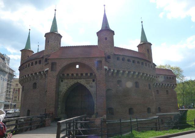 Krakow Barbican Poland