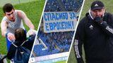 Вратарь «Динамо» Шунин совершил эффектный сейв на последних минутах игры с «Ахматом»: видео решающего спасения