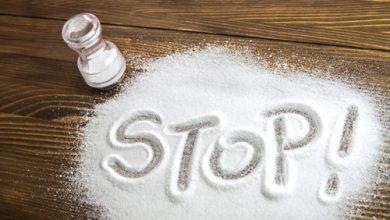 نتيجة بحث الصور عن أضرار الملح والسكر