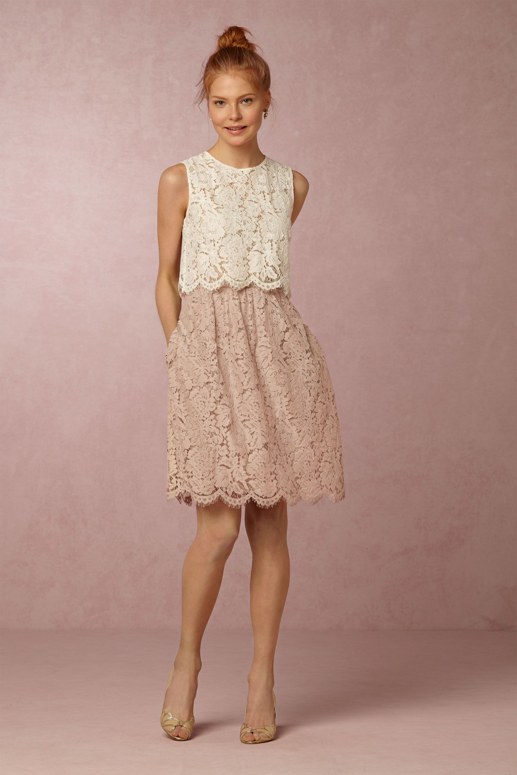 Cleo Top Amp Lydia Lace Skirt In Bridesmaids Amp Bridal Party