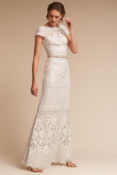 Shop Wedding Dresses on Sale   Wedding Dress Clearance   BHLDN Peridot Gown