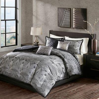 Buy Madison Park Valentina 7 Piece King Comforter Set In