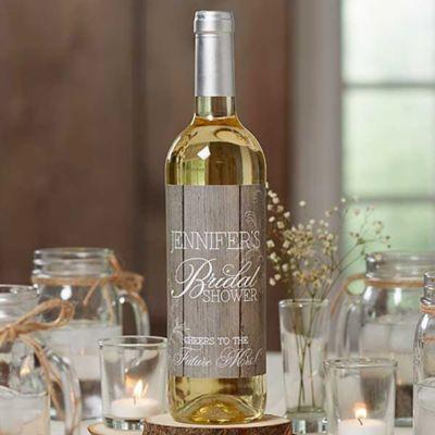 Rustic Bridal Shower Wine Bottle Labels Bed Bath Amp Beyond