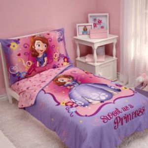 Disney Princess   Bed Bath   Beyond NoJo     Disney     Sofia the First  Sweet as a Princess  4 Piece