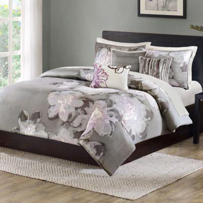 Madison Park Serena Duvet Cover Set Bed Bath Amp Beyond