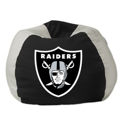 NFL Oakland Raiders Bean Bag Chair by The Northwest - Bed ...