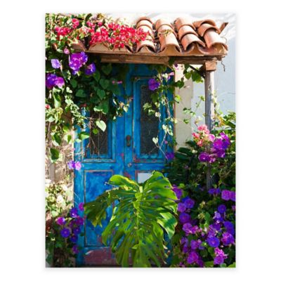 Morning Glory All Weather Outdoor Canvas Wall Art Bed Bath Amp Beyond