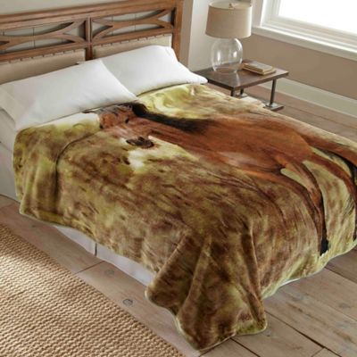 Hi Pile Luxury Oversized Horse Blanket Bed Bath Amp Beyond