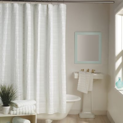 Details About Dkny Urban Dash 72 Inch Square Shower Curtain In White