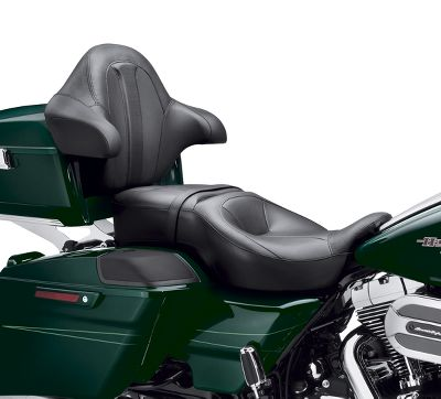 Harley Hammock Heated Rider And Passenger Touring Seat Two Up Seats Official Harley Davidson