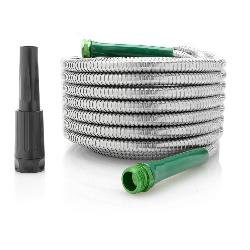 002 011 armor size choice kink resistant stainless steel garden hose w