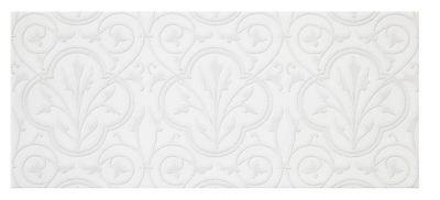 chantilly white venetian ceramic subway wall tile 4 x 10 in