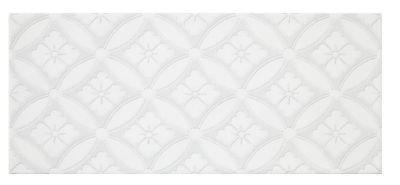 chantilly white arabella ceramic subway wall tile 4 x 10 in