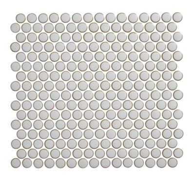 penny round moss porcelain mosaic wall and floor tile