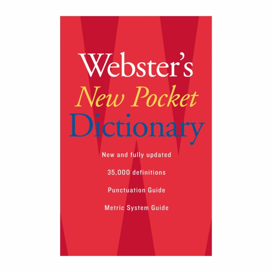 Websters New Pocket Dictionary by Office Depot & OfficeMax
