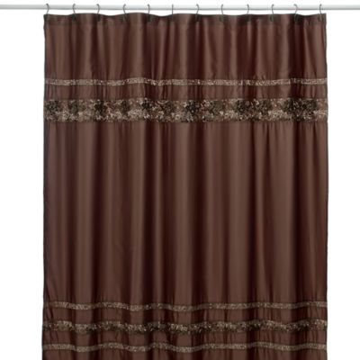 Croscill Mosaic Tile Fabric Shower Curtain Bed Bath Amp Beyond