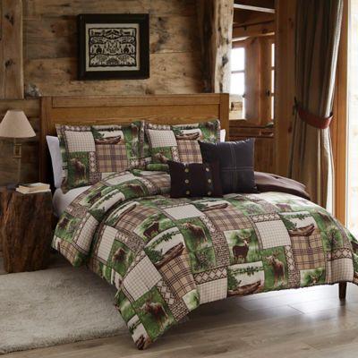 Seneca Lake Comforter Set In BrownGreen Bed Bath Amp Beyond