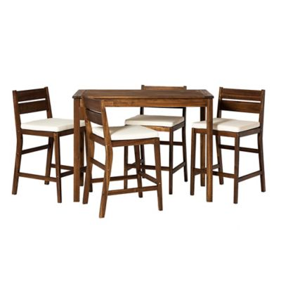 forest gate 5 piece acacia wood patio