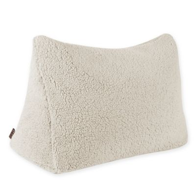 ugg classic sherpa reading wedge pillow