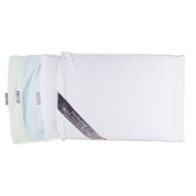 brookstone biosense layer adjust memory foam standard bed pillow