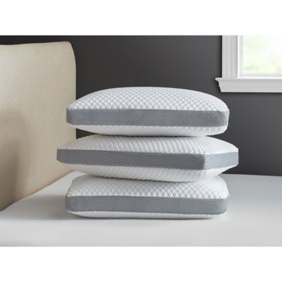 therapedic trucool memory foam side sleeper pillow