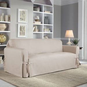 Sofa Slipcovers   Couch Covers   Bed Bath   Beyond Perfect Fit     Classic Relaxed Fit Sofa Slipcover
