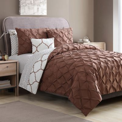 VCNY Home Ogee 9 Piece Comforter Set In Copper Bed Bath