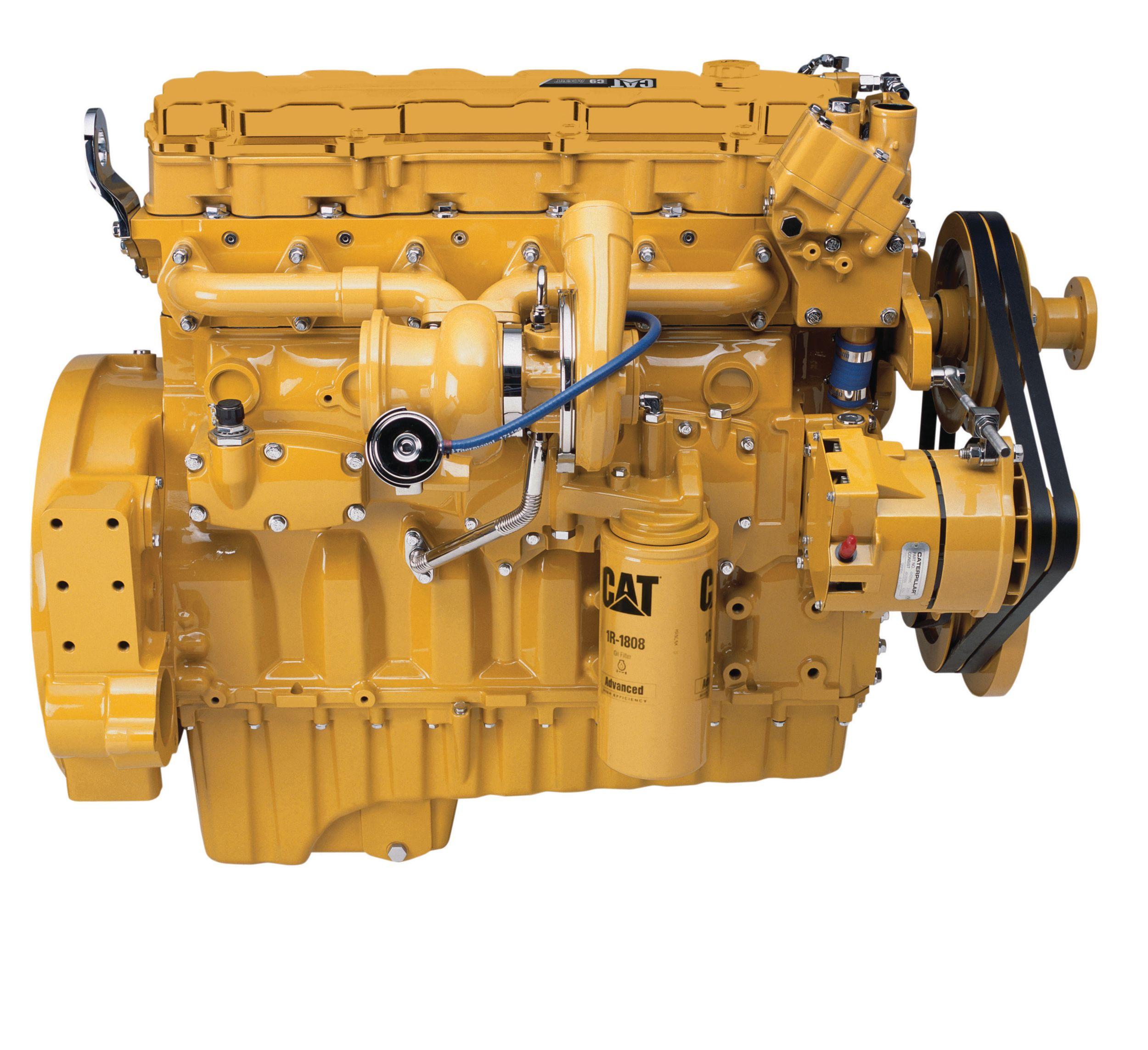 Cat | Motor C9 ACERT™ con múltiple enfriado por agua | Caterpillar
