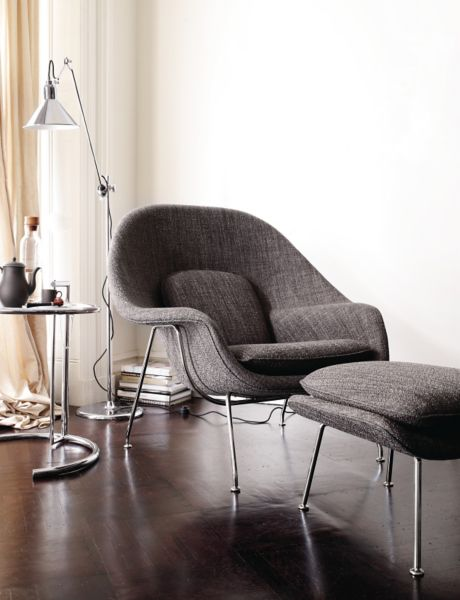 Womb Chair And Ottoman Design Within Reach