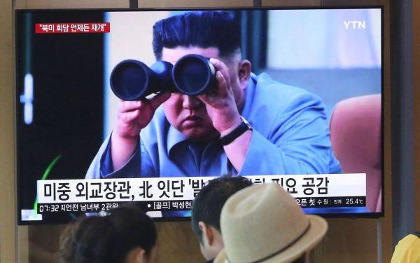 N. Korea fires projectiles twice into sea, S. Korea says