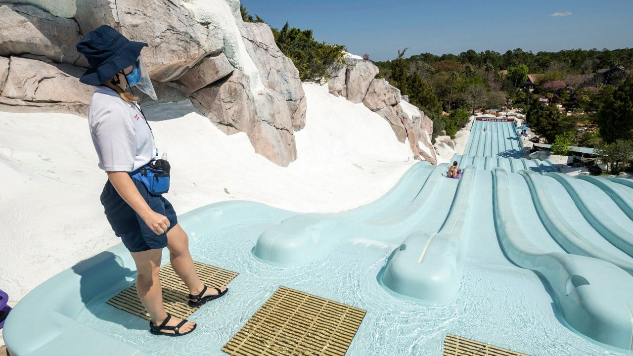 """The hotel is located only 10.8 from """"disney's blizzard beach water park"""". Blizzard Beach Water Park Reopens At Disney World"""