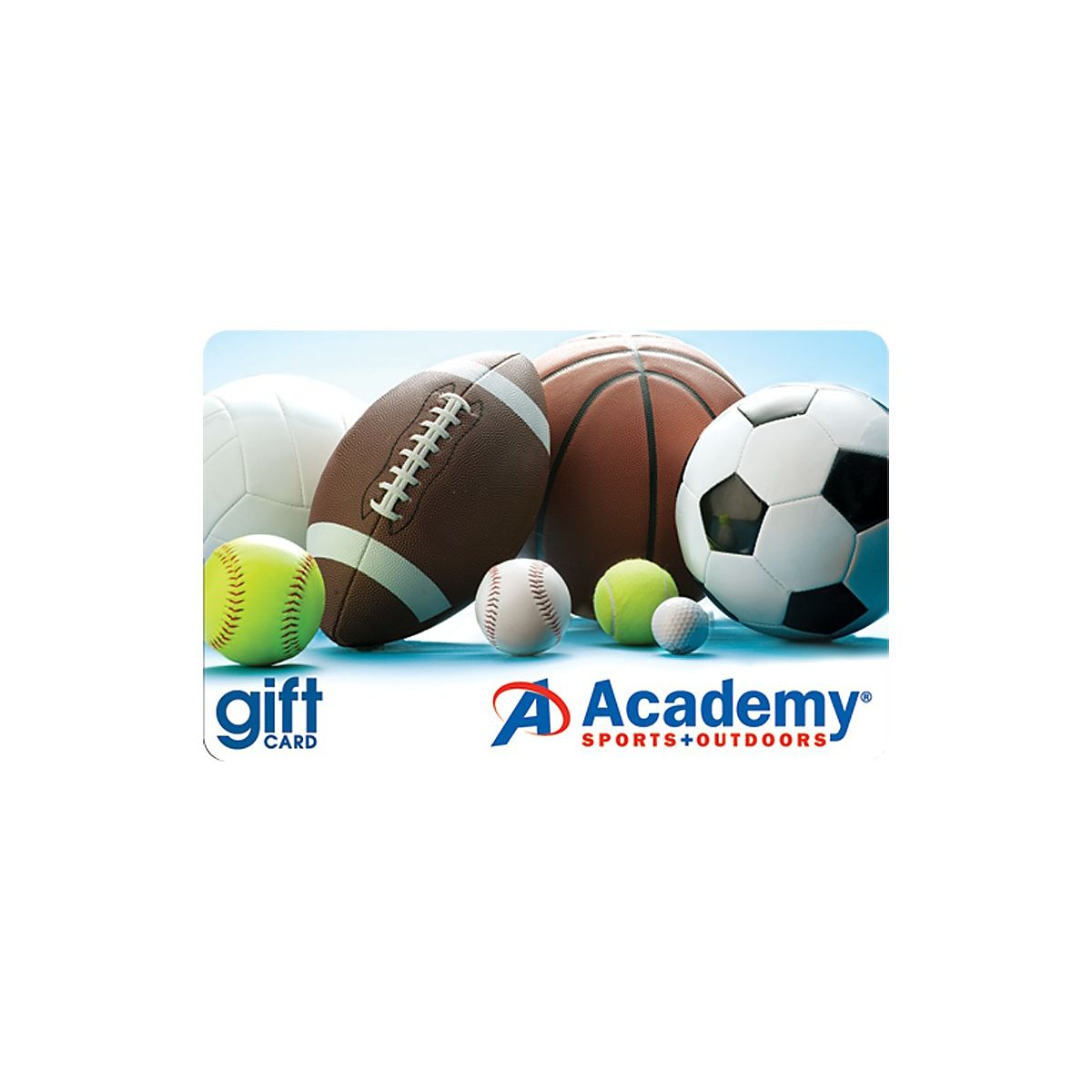 While running up credit card debt you can't immediately pay off is generally not a good idea, you may simply need a new ca. Academy Sports Gift Card Academy