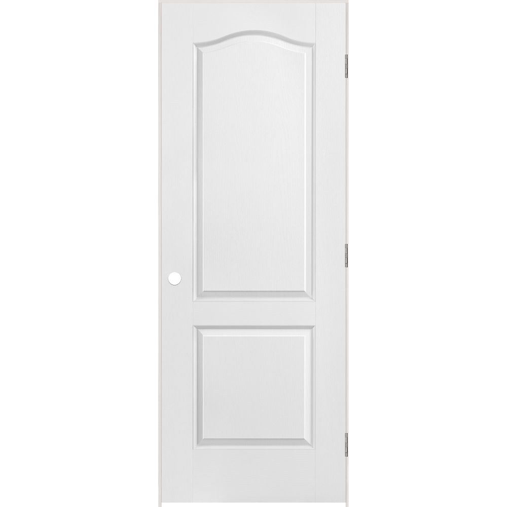 masonite 32 inch x 80 inch righthand primed 6 panel on Masonite 32 Inch X 80 Inch 6 Panel Textured Bifold Door id=59422