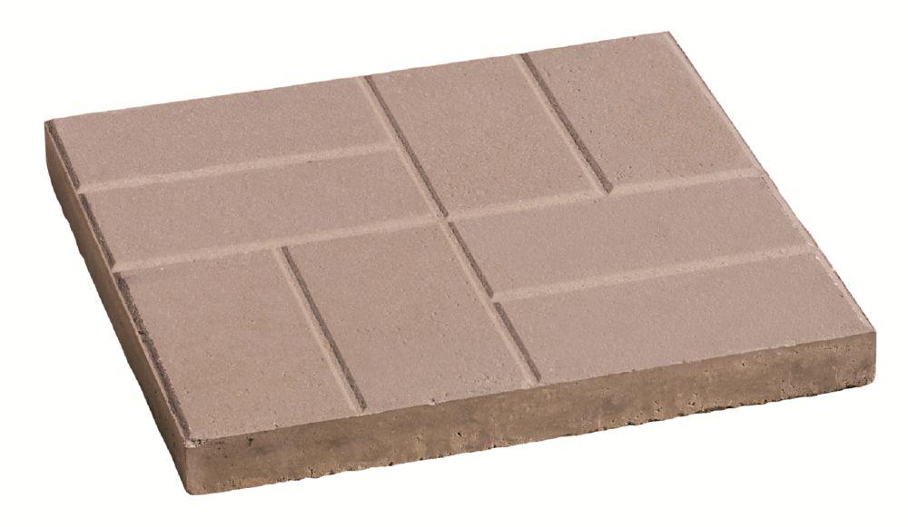 24x24 brick slab natural