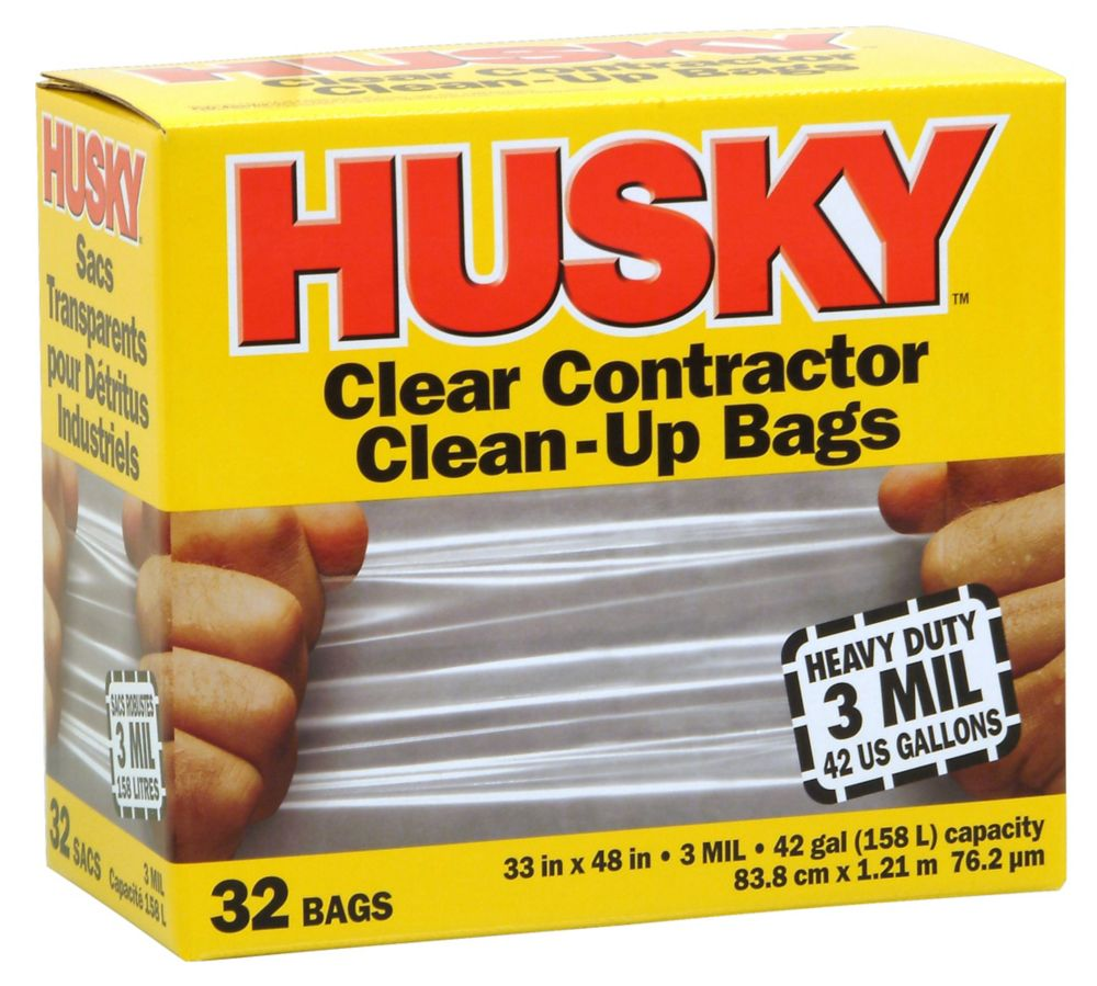 Home Depot Contractor Bags