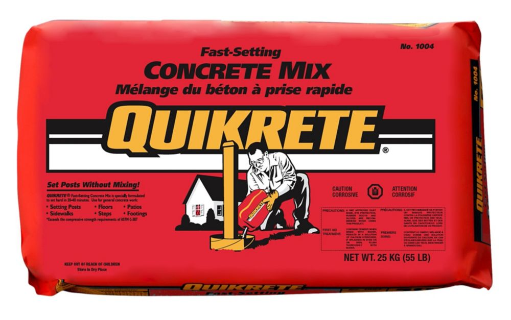 Quick Setting Concrete