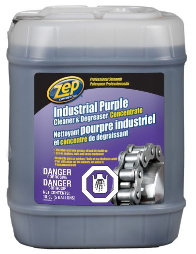 Zep Commercial Industrial Purple Cleaner and Degreaser   18 9 L     Zep Commercial Industrial Purple Cleaner and Degreaser   18 9 L   The Home  Depot Canada
