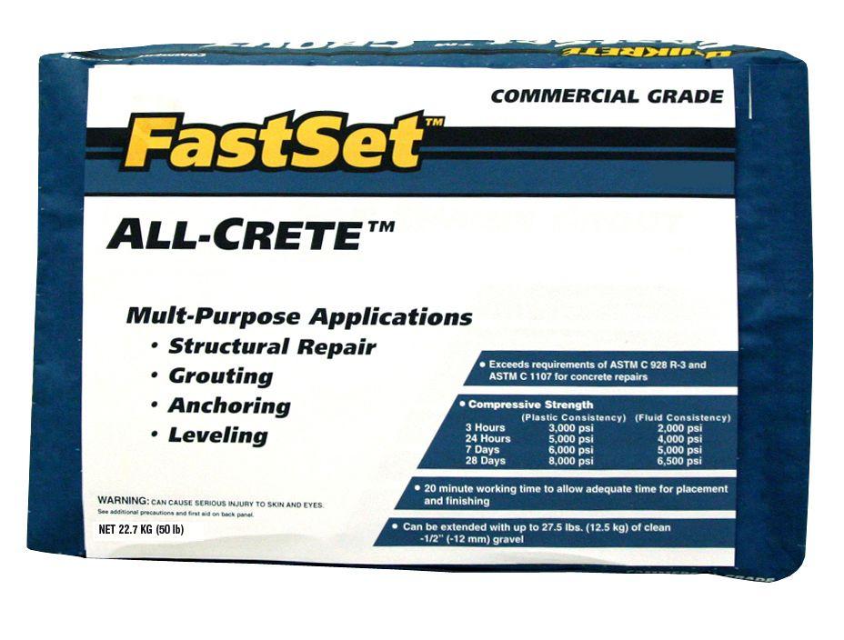 Quikrete Fast Setting Concrete