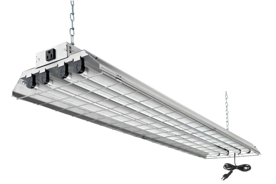 Lithonia Lighting 4 ft  32W 4 Light T8 Grid Shop Light   The Home     Lithonia Lighting 4 ft  32W 4 Light T8 Grid Shop Light   The Home Depot  Canada