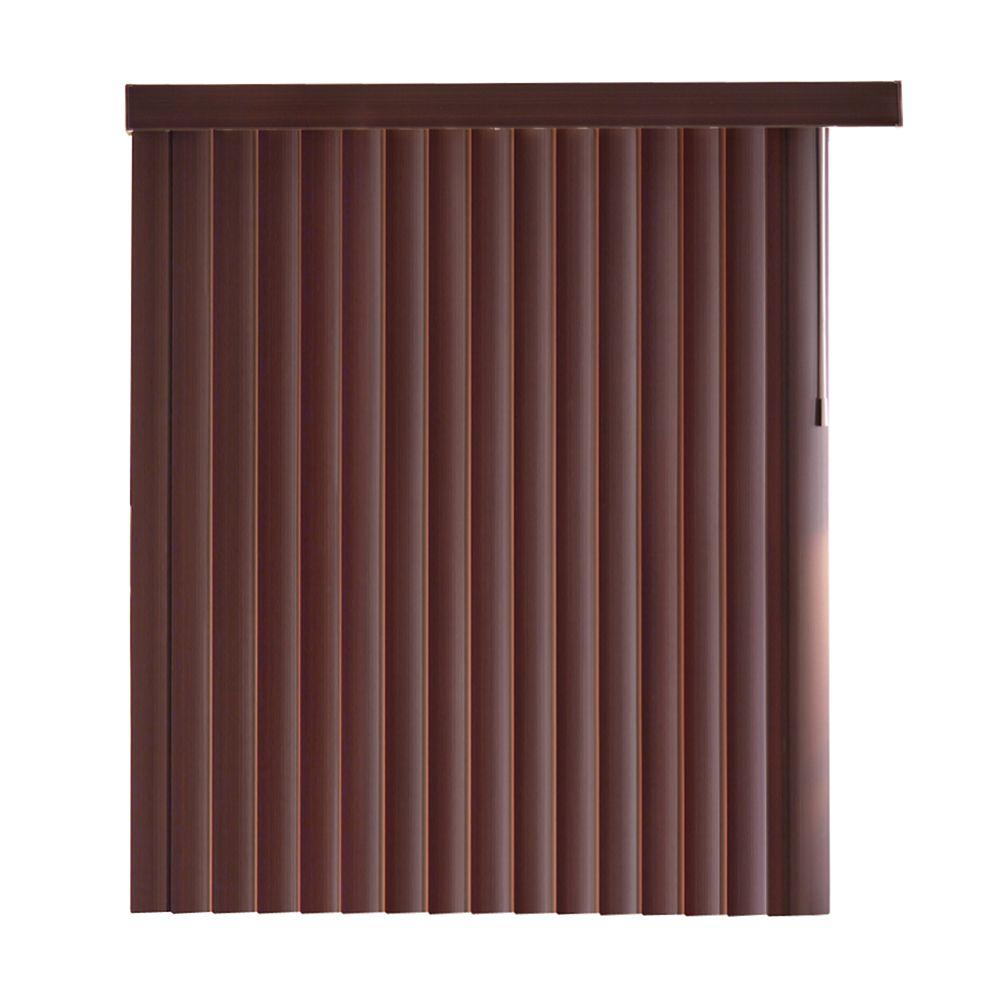 Home Decorators Collection 78x84 Espresso Bamboo 4 5 Inch