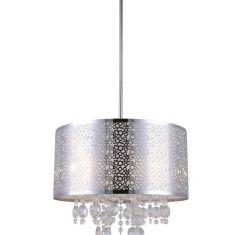 Piera 16 Inch X 24 66 4 Light Chandelier