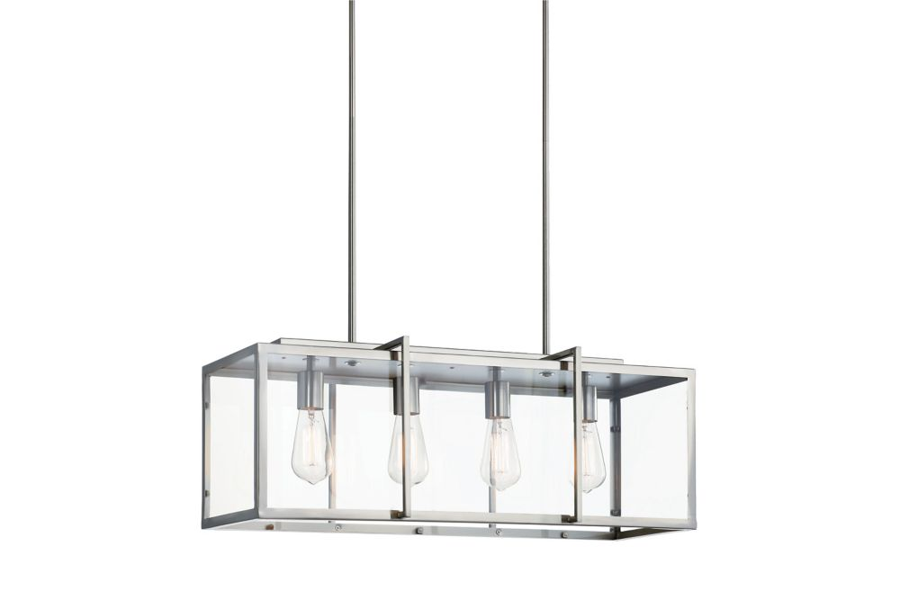 luminaire suspendu a 4 ampoules