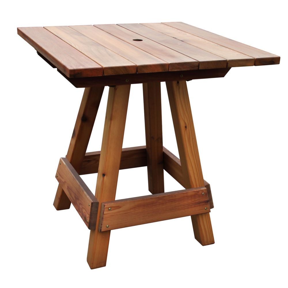outdoor patio bar height tables Bar Height Patio Tables | The Home Depot Canada