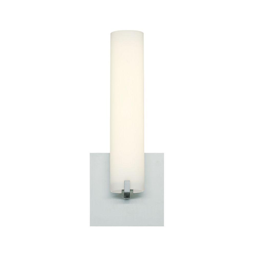 Eurofase Zuma Collection, 1-Light Small LED Satin Nickel ... on Small Wall Sconce Light id=88818