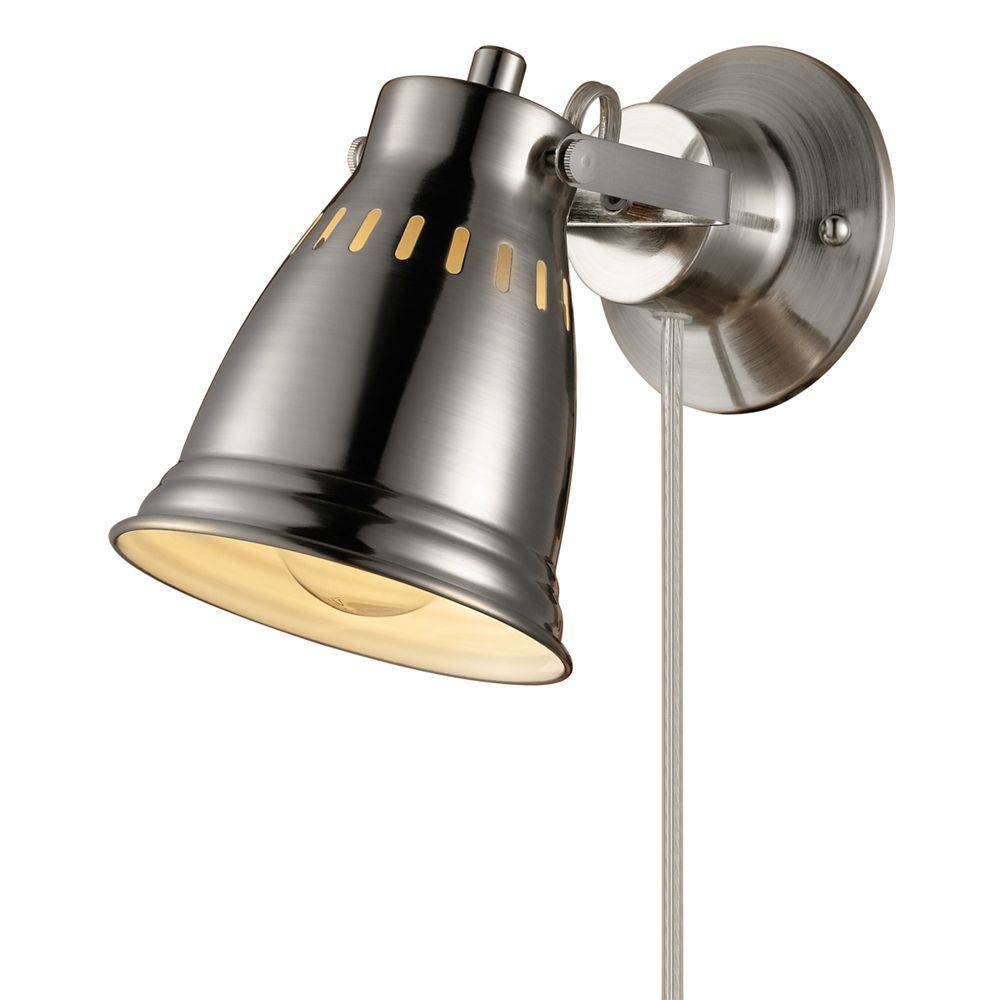 Wall Sconces: Rustic, Modern & More | The Home Depot Canada on Plugin Wall Sconce Lights id=79381