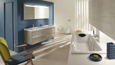 salle de bains les couleurs tendance